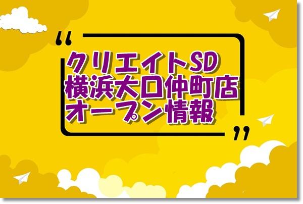 クリエイトエス・ディー横浜大口仲町店