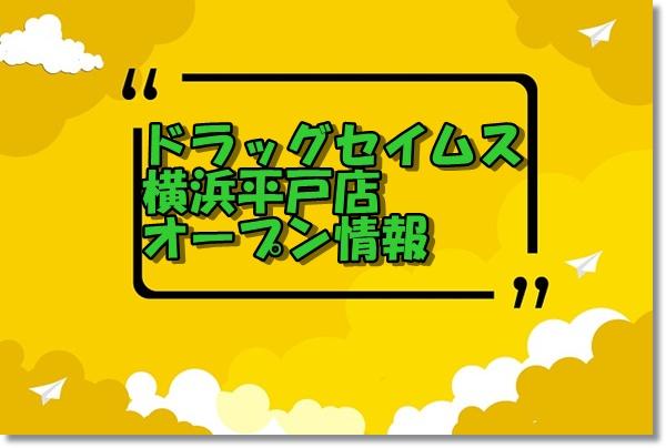 ドラッグセイムス横浜平戸店