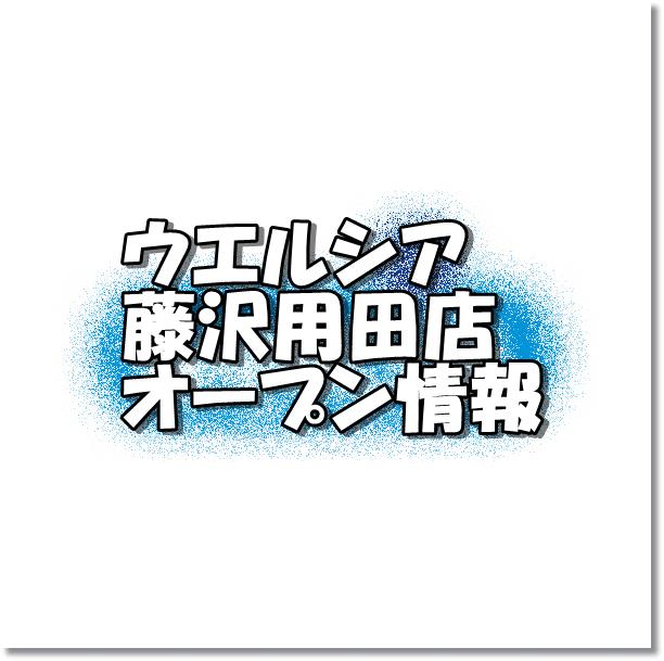 ウエルシア藤沢用田店
