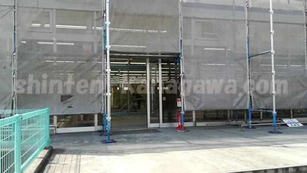 パレッテ大和鶴間店オープン前の内装